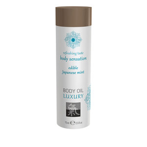 Luxe Eetbare Body Oil - Japanese Mint
